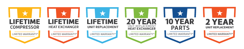 Liberty warranty badges